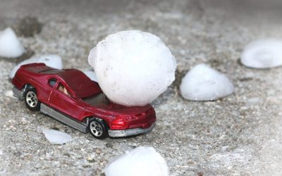 What to do when hail damages your car