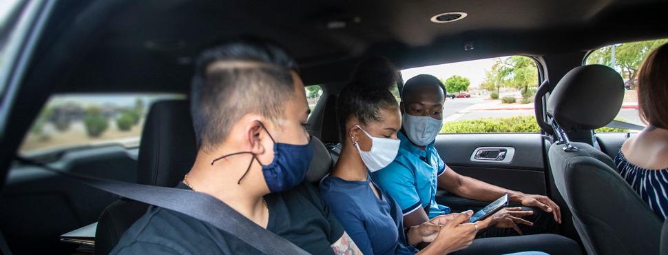Carpooling and insurance